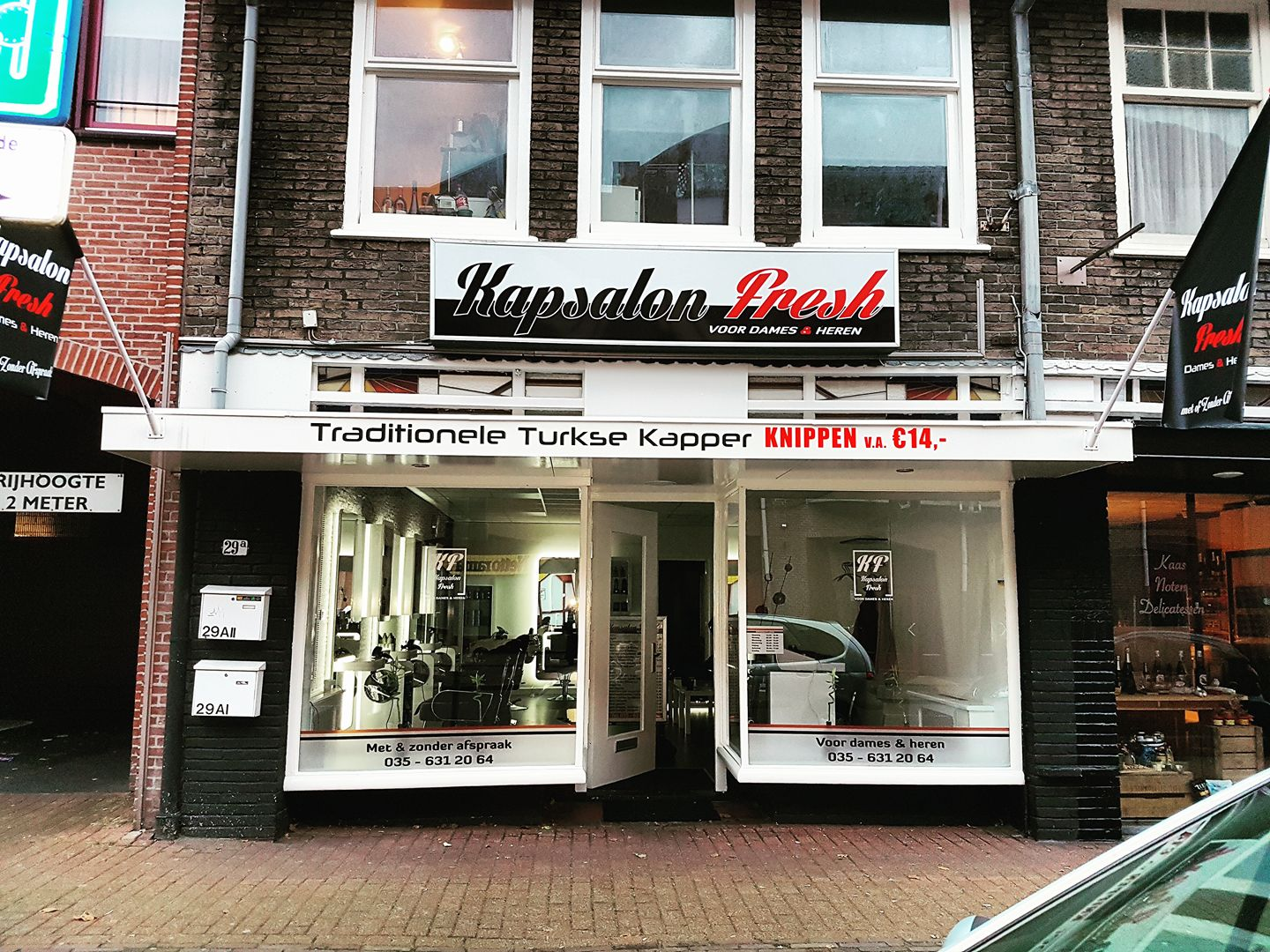 Kapsalon Fresh de enige traditionele Turkse kapper in Bussum